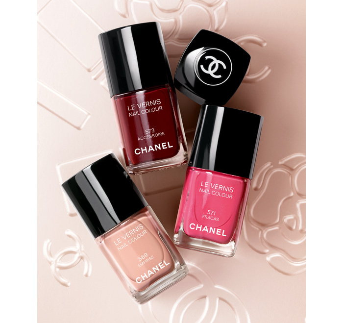 New Chanel Three Shades of LE VERNIS