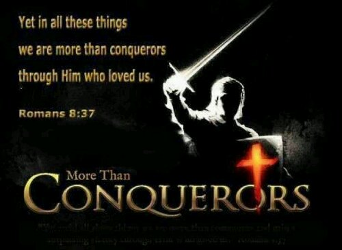 Image result for you are more than a conqueror