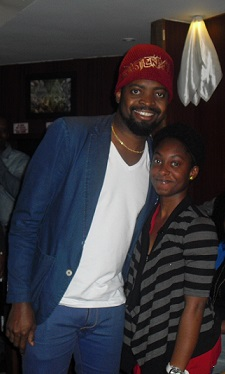A Day To Remember: I Met Basketmouth!