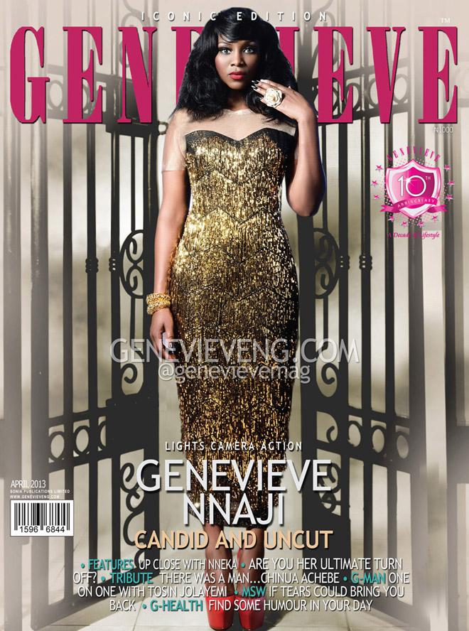 Genevieve Nnaji Rocks April Cover Genevieve Magazine