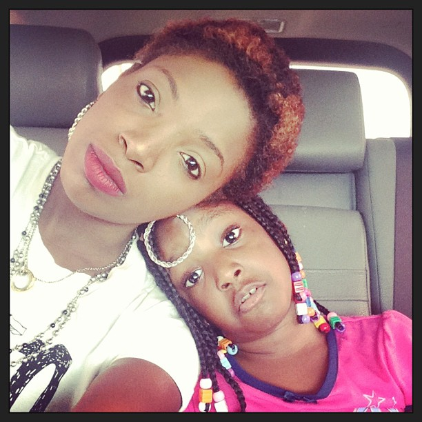 Annie Idibia's Short Hair!