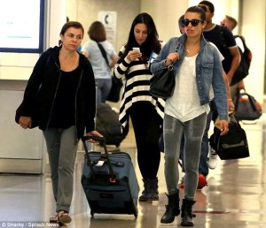 LM at the airport