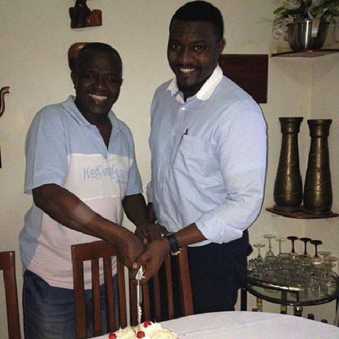 It's John Dumelo's Father's Birthday Today!