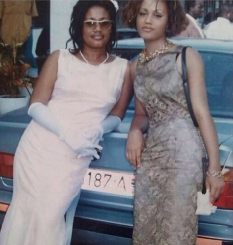 Checkout Nadia Buari & Mum 16 Years Ago And Now