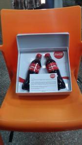 Pokello and E coca cola bottle