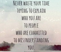Cut Off People From Your Life Who Are Committed To Misunderstanding